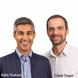 Kabir Shahani, co-founder & CEO; Derek Slager, co-founder & CTO, Amperity