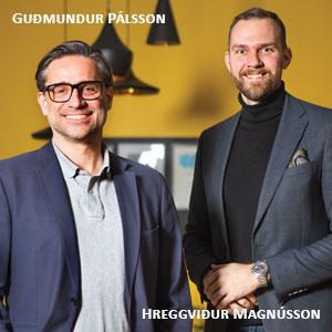 Guðmundur Pálsson, CEO & Hreggviður Magnússon, Digital Director, The Engine