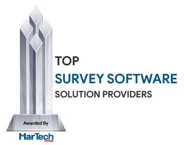 Top 10 Survey Software Solution Companies - 2020
