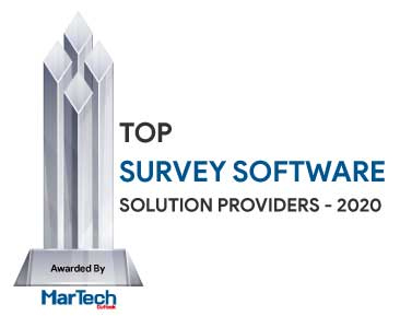 Top 10 Survey Software Solution Companies - 2020