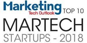 Top 10 MarTech Startups - 2018