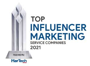 Top 10 Influencer Marketing Service Companies - 2021