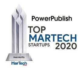 Top 10 MarTech Startups - 2020